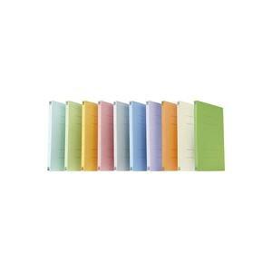(業務用100セット) プラス フラットファイル 紙バインダー 2穴 021N A4S オレンジ10冊 ×100セット