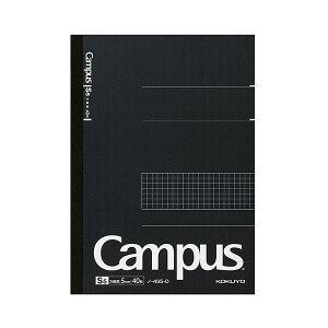 (まとめ) コクヨ キャンパスノート セミB55mm方眼罫 40枚 ノ-4S5-D 1冊 【×30セット】