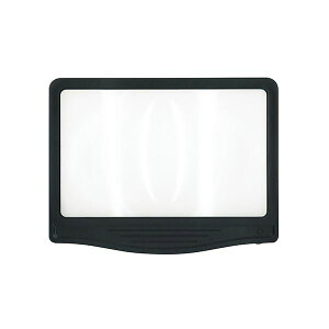 (まとめ) 共栄プラスチック LED調光ルーペ ワイドタイプ【×5セット】
