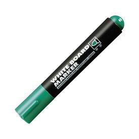 (まとめ) コクヨ ホワイトボード用マーカーペン 中字 緑 業務用パック PM-B102NG 1箱(10本) 【×10セット】