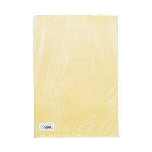 (まとめ)寿堂 大型クラフト封筒A3マチなし10枚パック×10【×5セット】