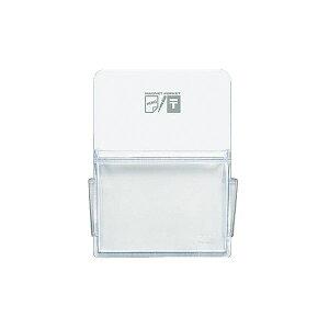 (まとめ)コクヨ マグネットポケット ハガキタテ165×120mm 白 マク-511NW 1セット(6個)【×2セット】