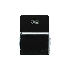 (まとめ)コクヨ マグネットポケット ハガキタテ165×120mm 黒 マク-511ND 1セット(6個)【×2セット】
