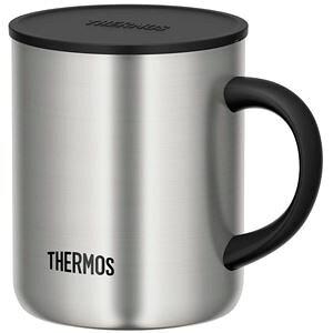【12個セット】 【THERMOS サーモス】 真空断熱マグカップ/コップ 【ステンレス S 350ml】 フタ付き 保温・保冷【送料無料】