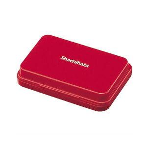 (まとめ) シヤチハタ スタンプ台 小形 赤 HGN-1-R 1個 【×30セット】