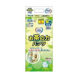 (まとめ)カミ商事 エルモア いちばんお茶の力パンツ M-L 1パック(20枚)【×10セット】