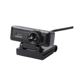 エレコム PCカメラ/500万画素/マイク内蔵/高精細ガラスレンズ/ブラック UCAM-C750FBBK