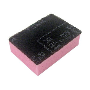(まとめ)キクロン スポンジたわし キクロンC ピンク【×50セット】