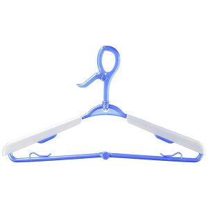 (まとめ)洗濯ハンガー スライド ハンガー 3本組 (洗濯物干し グリップハンガー) 【32個セット】