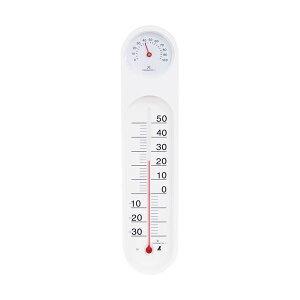 (まとめ)シンワ 温湿度計 PCオーバル48927 1個【×5セット】