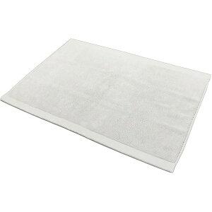【今治タオル】 バスマット 【ライトグレー】 約45×63cm 日本製 綿100% 軽量 吸水力抜群 速乾 消臭機能付き 『エアーかおる』 【代引不可】