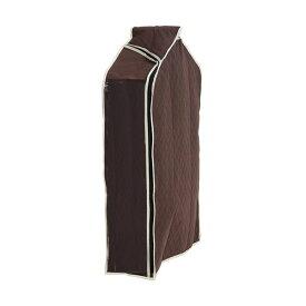 (まとめ) 洋服カバー/衣類収納カバー 【ショート】 着丈約75cm迄 スーツ・ジャケット用 炭入り消臭 透明窓付き 【×26個セット】