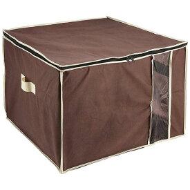 (まとめ) 不織布 収納袋/収納ケース【座布団用】 透明窓付き 炭入り消臭 通気性抜群 【×20個セット】