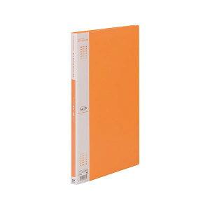 (まとめ) テージー マイホルダーファイン A4タテ型 20ポケット オレンジ 【×10セット】【送料無料】