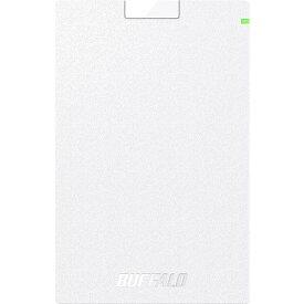 バッファロー ミニステーション USB3.1(Gen.1)対応 ポータブルHDD スタンダードモデル ホワイト500GB HD-PCG500U3-WA