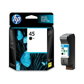 (まとめ) HP45 プリントカートリッジ 黒 51645AA#003 1個 【×10セット】