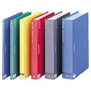(まとめ) ビュートン クリヤーブック A4タテ60ポケット 背幅35mm ブルー BCB-A4-60B 1セット(4冊) 【×5セット】