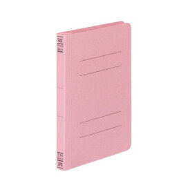(まとめ) コクヨ フラットファイルV(樹脂製とじ具) B6タテ 150枚収容 背幅18mm ピンク フ-V13P 1パック(10冊) 【×10セット】