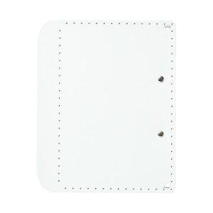 (まとめ)プラス おりたためるA4クリップボード+ ホワイト(×50セット)【送料無料】