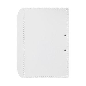 (まとめ)プラス おりたためるA3クリップボード+ ホワイト(×50セット)【送料無料】