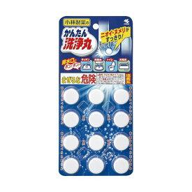(まとめ)小林製薬 かんたん洗浄丸 レギュラー 1セット(36錠:12錠×3パック)【×5セット】