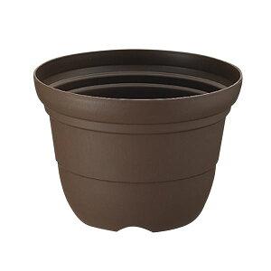(まとめ) プラスチック製 植木鉢/ポット 【輪鉢 5号 コーヒーブラウン】 ガーデニング 園芸 『カラーバリエ』 【×60個セット】