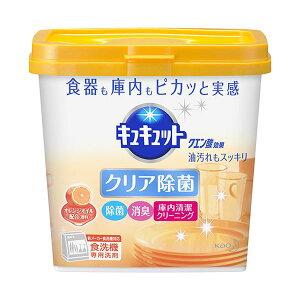 (まとめ)花王 食器洗い乾燥機専用キュキュットクエン酸効果 オレンジオイル配合 本体 680g 1個【×10セット】