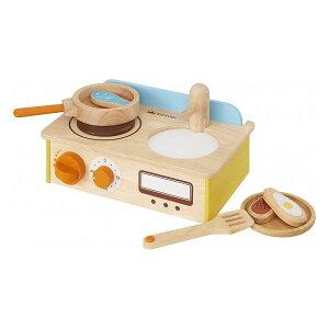 エドインター 森のあそび道具シリーズ 木製おもちゃ ジュージュークルリン!キッチン【送料無料】