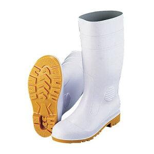 ミドリ安全 安全長靴ワークエースW1000 白(耐油性) 28cm SNG01280【送料無料】
