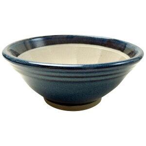 元重製陶所 青なまこ スリ鉢(シリコンゴム付) 6号 [BSL5504]