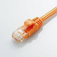 [ELECOM(エレコム)] [オレンジ][5m][Cat6準拠]配線スッキリ!取り回しがしやすいGigabit やわらかLANケーブル(Cat6準拠) LD-GPY/DR5(代引き不可)【ポイント10倍】