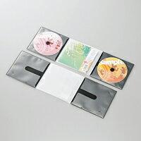 [ELECOM(エレコム)] 市販デイスク圧縮ケース/CD/2枚収納/10枚/ブラック CCD-DP2C10BK(代引き不可)【ポイント10倍】