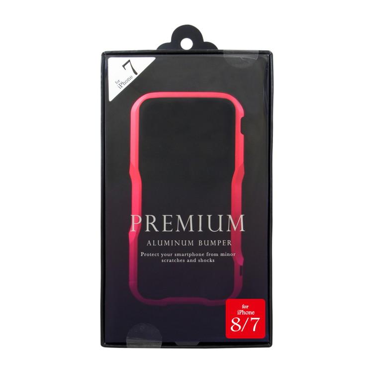 [iPhone8/7専用] アルミニウムバンパー レッド iPhone8/7 BPi7-01RD【ポイント10倍】