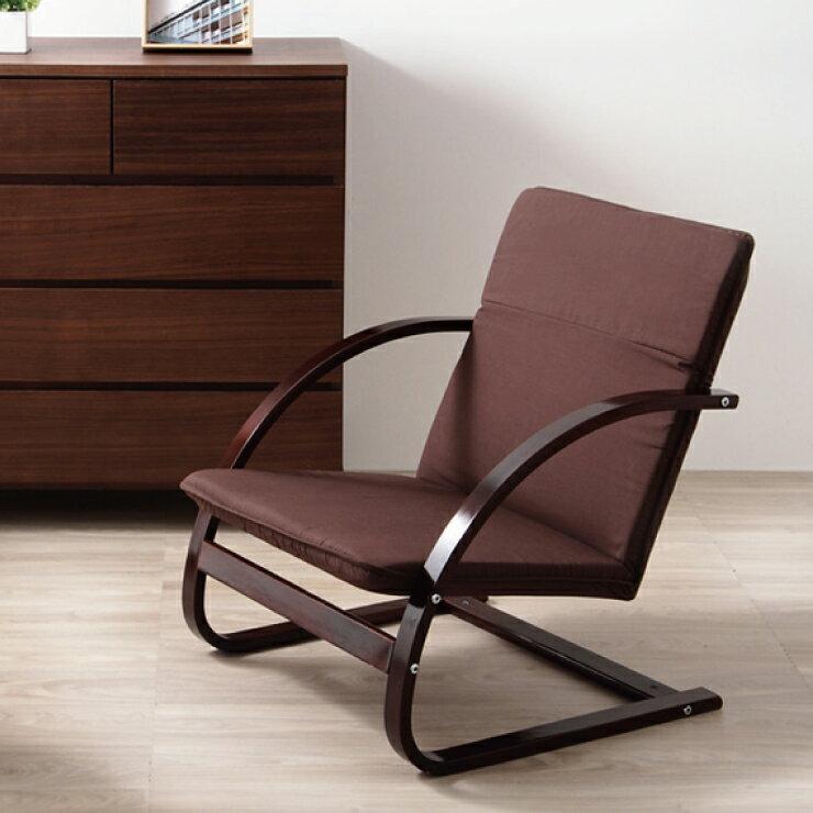 高座椅子 座椅子 優しい座椅子 座いす 座イス 1人掛けソファ いす イス 椅子 チェア(代引不可)【ポイント10倍】【送料無料】