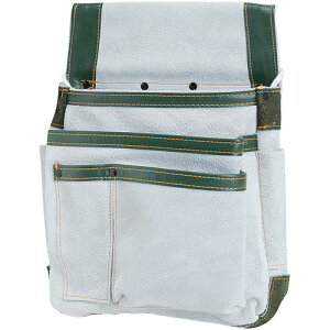 SK11・皮製マチ付釘袋・SMK-350 大工道具:収納用品:革腰袋釘袋サック1