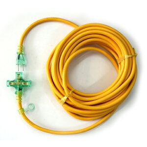 KOWA・Pランプ付コード15A10M・KMP802-10‐キイロ 電動工具:電工ドラム・コード:延長コード2