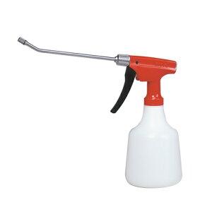 園芸機器・噴霧器の手動式噴霧器NO.530 アカ。アイロンがけ、家庭園芸、消毒用などの噴霧器。園芸用などに持ちやすさ使いやすさで大好評。1回のハンドル操作で約1mL噴霧。