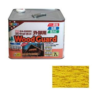 アサヒペン・油性ウッドガード外部用・7Lーパインー15