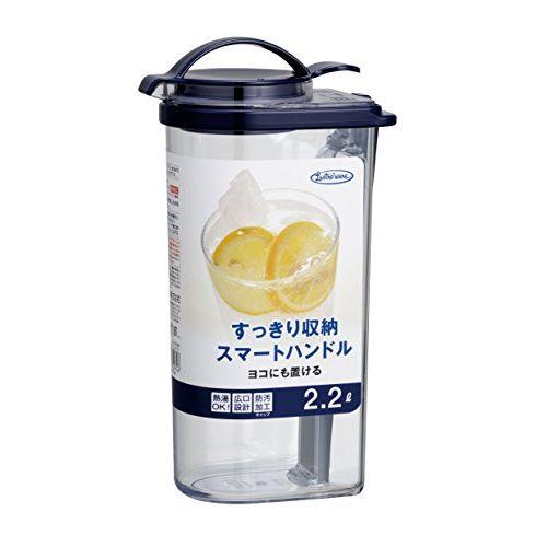 岩崎 岩崎 冷水筒 フェローズ タテヨコ・ハンドルピッチャー 2.2L ネクスト K-1297NB【ポイント10倍】