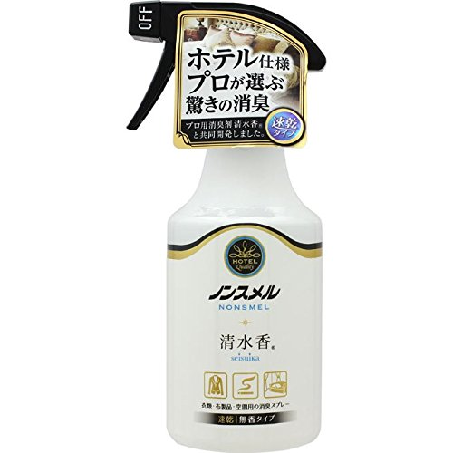 白元アース ノンスメル 清水香 無香料 300ml【ポイント10倍】