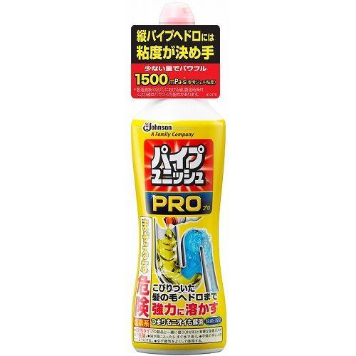 ジョンソン パイプユニッシュプロ 液体タイプ コンパクト 400g 排水溝クリーナー【ポイント10倍】