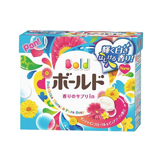 ボールド 洗濯洗剤 粉末 ピュアクリーンサボンの香り 850g【ポイント10倍】