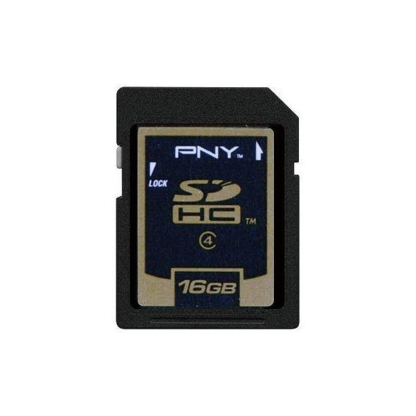 グリーンハウス SDHCカード16GB PNY SDHC-16GP4【S1】