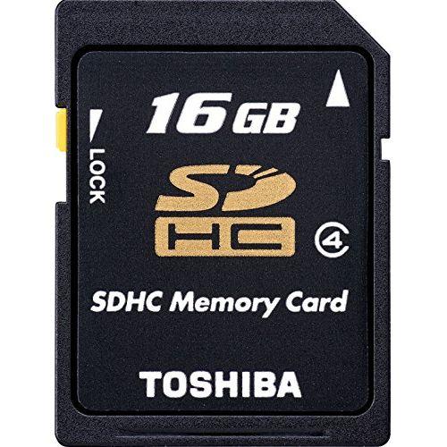 東芝 SDHCクラス4 16GB SD-L016G4【ポイント10倍】