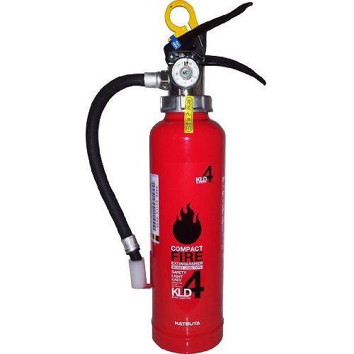 初田製作所 業務用 粉末(ABC)消火器 【蓄圧式】 4型 KLD-4【ポイント10倍】