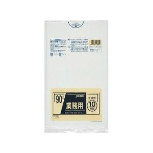 ジャパックス 【ゴミ袋】P-94 90L10枚半透明業務用(代引不可)