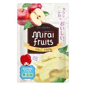 6個セット ビタットジャパン ミライフルーツ りんご(代引不可)【送料無料】