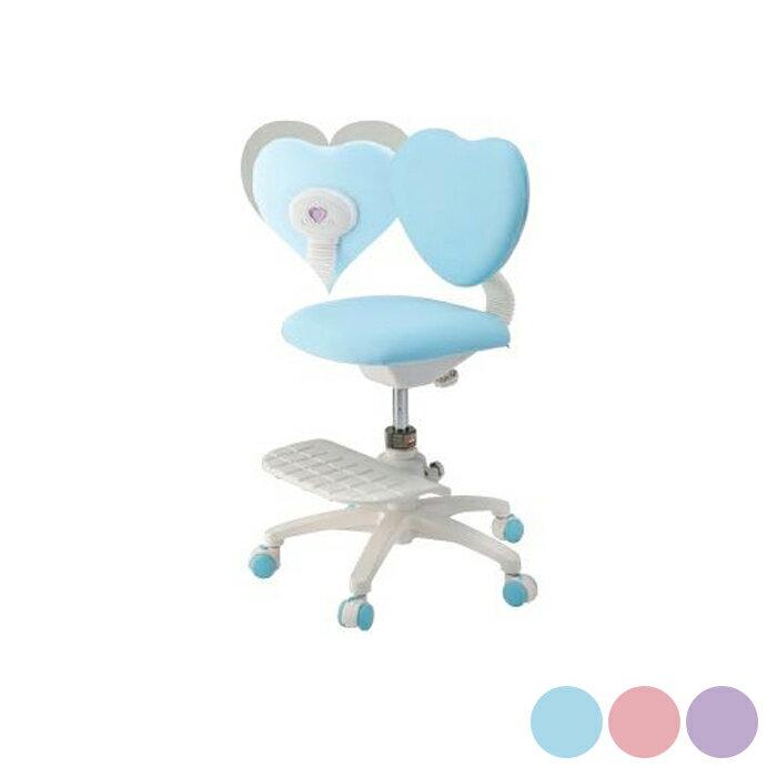 イトーキ 学習椅子 学習チェア チェア キッズチェア ハート型回転チェア ブルー KS3-9BU KS3-9PK KS3-9PP(代引不可)【ポイント10倍】【送料無料】