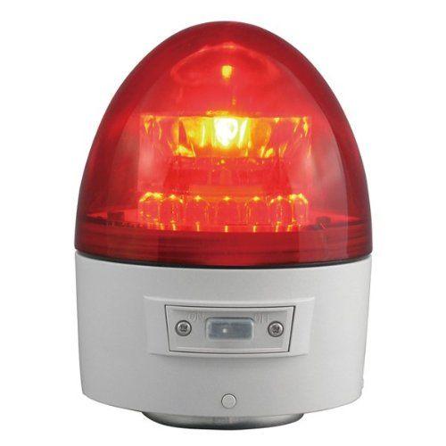 日恵製作所 電池式回転灯赤手動タイプ VL11B-003AR【ポイント10倍】