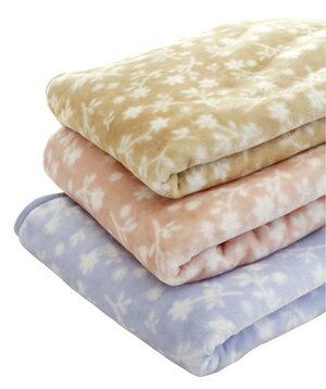 毛布 シングル マイヤー ポリエステルニューマイヤー毛布プティブルー シングルサイズ【ポイント10倍】